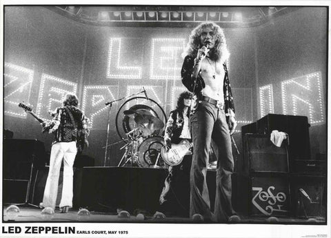 Led Zeppelin Earls Court Poster