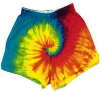 Tie Dyed Cheer Shorts