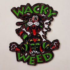Wacky Weed Cat Hat Pin