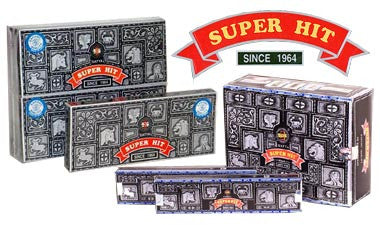 Super Hit Incense 3 Pack (36 sticks)