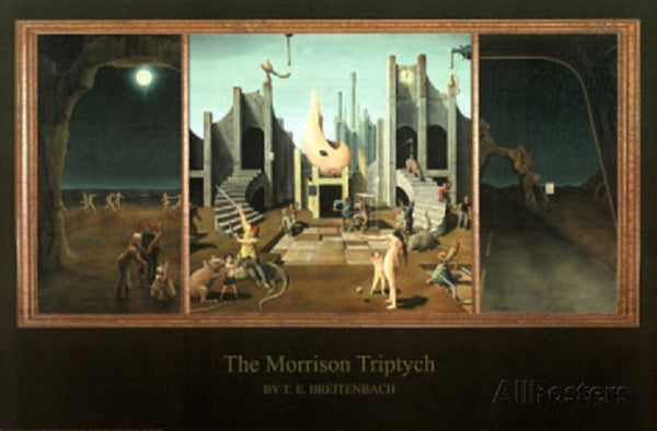 Morrison Triptych Poster
