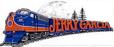 Jerry Garcia Train Sticker
