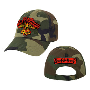 Eagle Velcro Patch Camo Hat