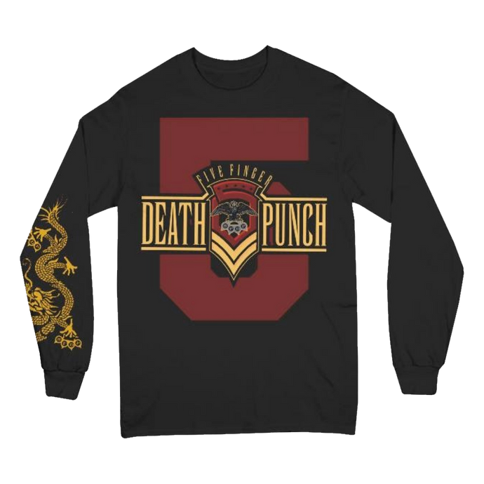 Kung Fu Tattoo Long Sleeve Tee
