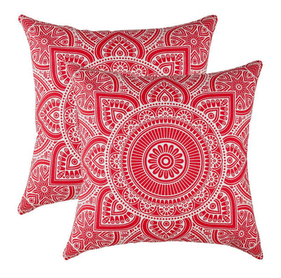 Mandala Accent Decorative Cushion Covers (Pack of 2) - TreeWool