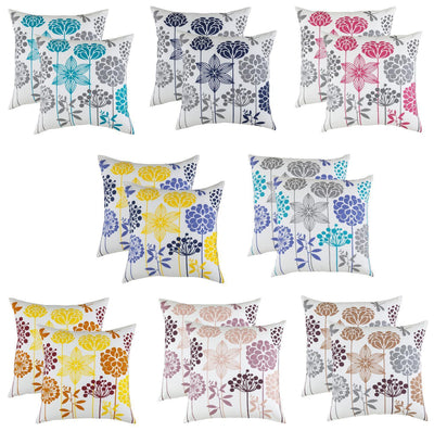 Blossom Accent Cushion Covers (Pack of 2) Seconds - TreeWool