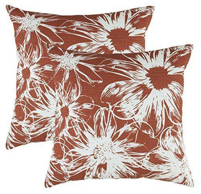 Floral Accent Cushion Covers (Pack of 2) - TreeWool