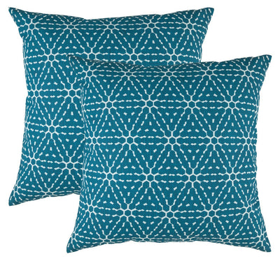 Honeycomb Accent Decorative Cushion Covers (Pack of 2) - TreeWool
