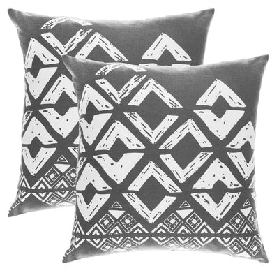 Squares Accent Decorative Cushion Covers (Pack of 2) - TreeWool