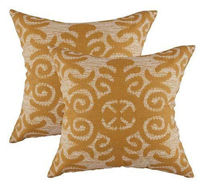 Fleur Accent Decorative Cushion Covers (Pack of 2) - TreeWool