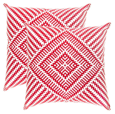 Kaleidoscope Accent Decorative Cushion Covers (Pack of 2) - TreeWool