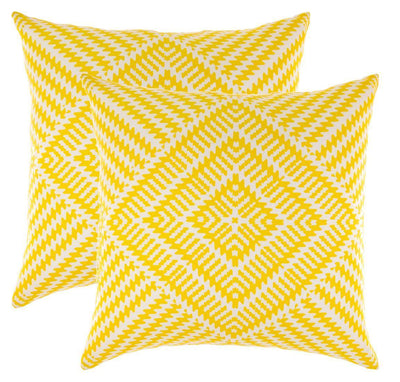 Kaleidoscope Accent Decorative Cushion Covers (Pack of 2) Seconds - TreeWool