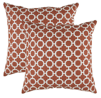 Fretwork Accent Cushion Covers (Pack of 2) - TreeWool