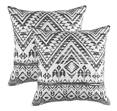French Toile Accent Decorative Cushion Covers (Pack of 2) - TreeWool