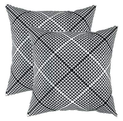 Prismatic Accent Decorative Cushion Covers (Pack of 2) - TreeWool