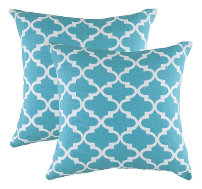 Trellis Accent Decorative Cushion Covers (Pack of 2) Seconds - TreeWool