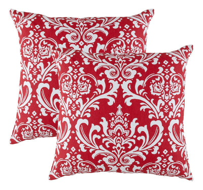 Damask Accent Decorative Cushion Covers (Pack of 2) Seconds - TreeWool