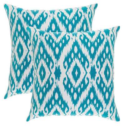 Ogee Diamond Accent Decorative Cushion Covers (Pack of 2) - TreeWool