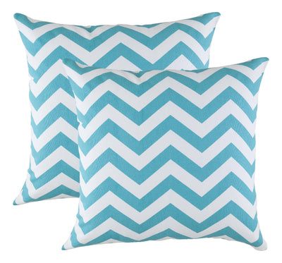 Chevron Accent Decorative Cushion Covers (Pack of 2) - TreeWool