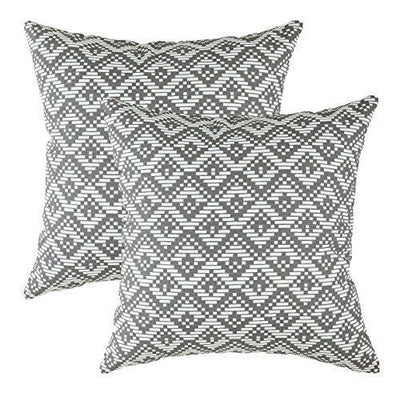 Geotile Accent Decorative Cushion Covers (Pack of 2) - TreeWool
