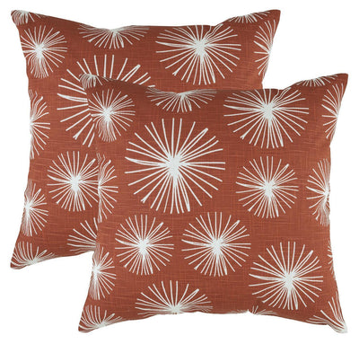 Starburst Accent Decorative Cushion Covers (Pack of 2) - TreeWool