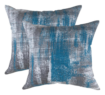Brush Art Accent Decorative Cushion Covers (Pack of 2) - TreeWool