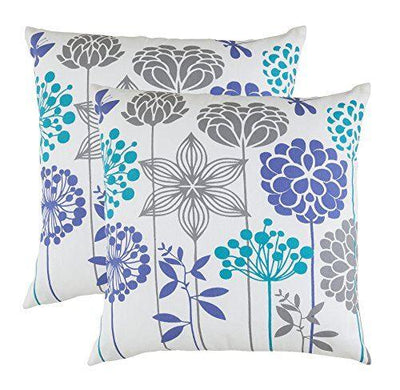 Blossom Accent Decorative Cushion Covers (Pack of 2) - TreeWool