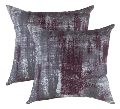 Brush Art Accent Decorative Cushion Covers (Pack of 2) Seconds - TreeWool
