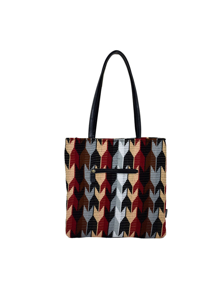Berserk Arrow Chenille Shopper Tote