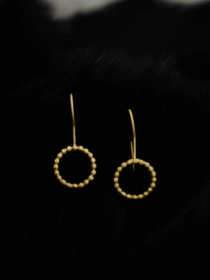 Gold Plated Ring Loops