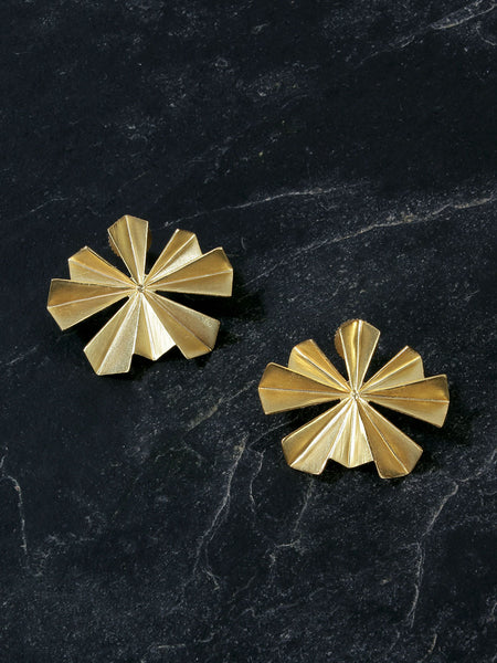 Gold Plated Bloom Studs