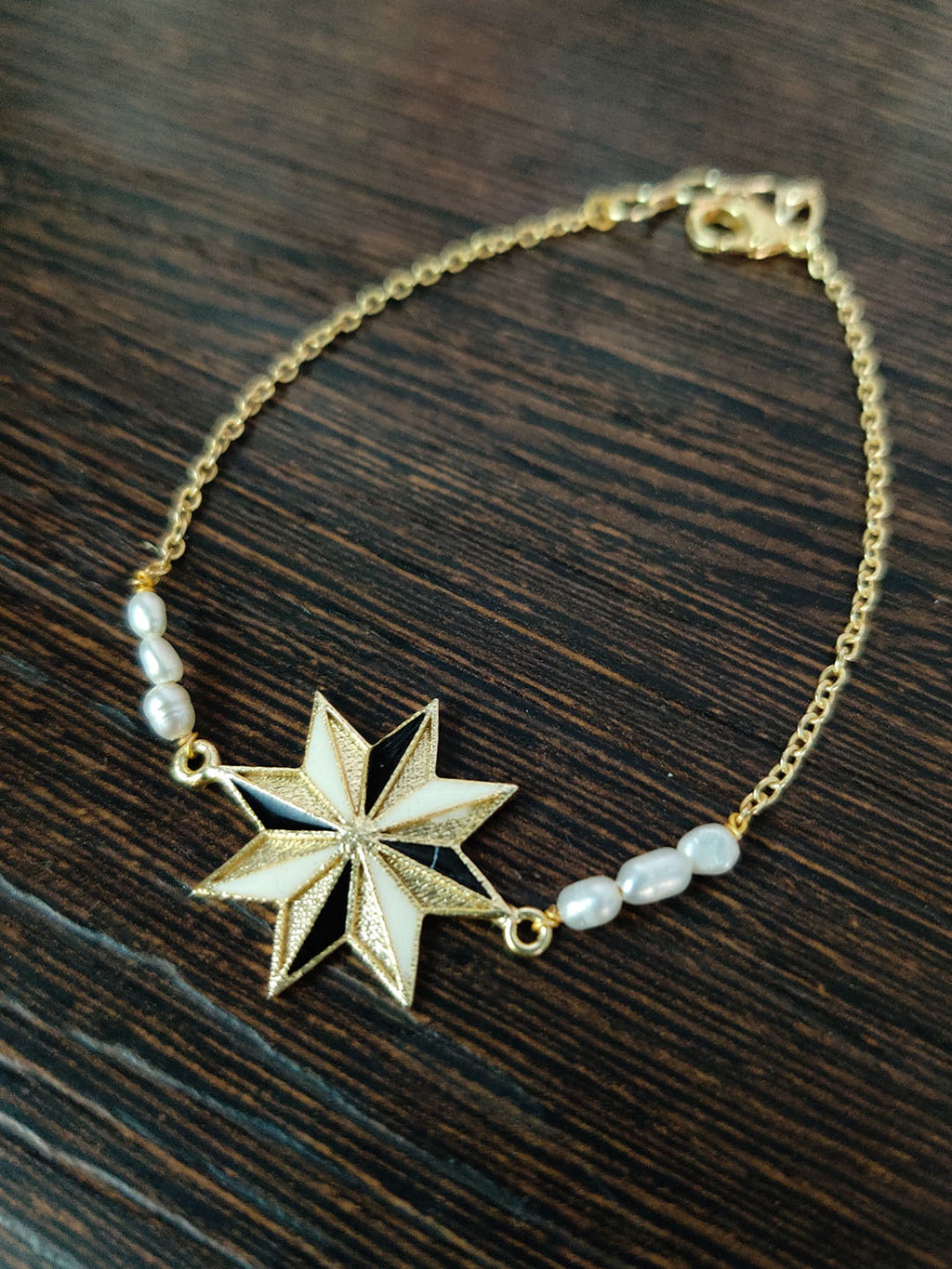 Gold Plated Star Bracelet