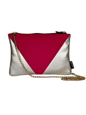 Cranberry Pink Canvas Bling Sling