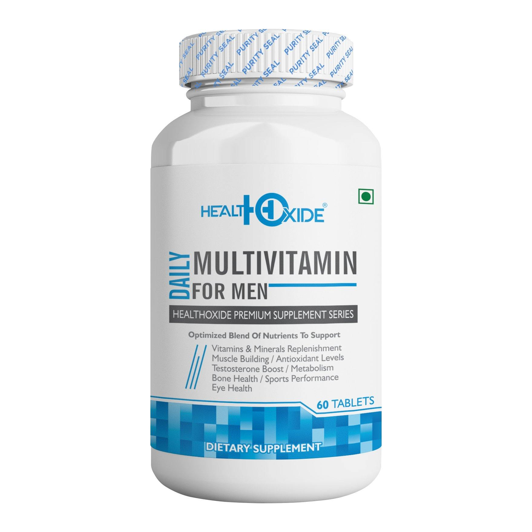 Multivitamins for Men  – 60 Veg Tablets - HealthOxide