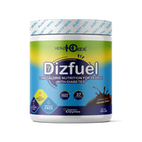 Dizfuel – High Protein Nutrition Drink Mix Powder for Diabetic – (200g, Chocolate Flavor)