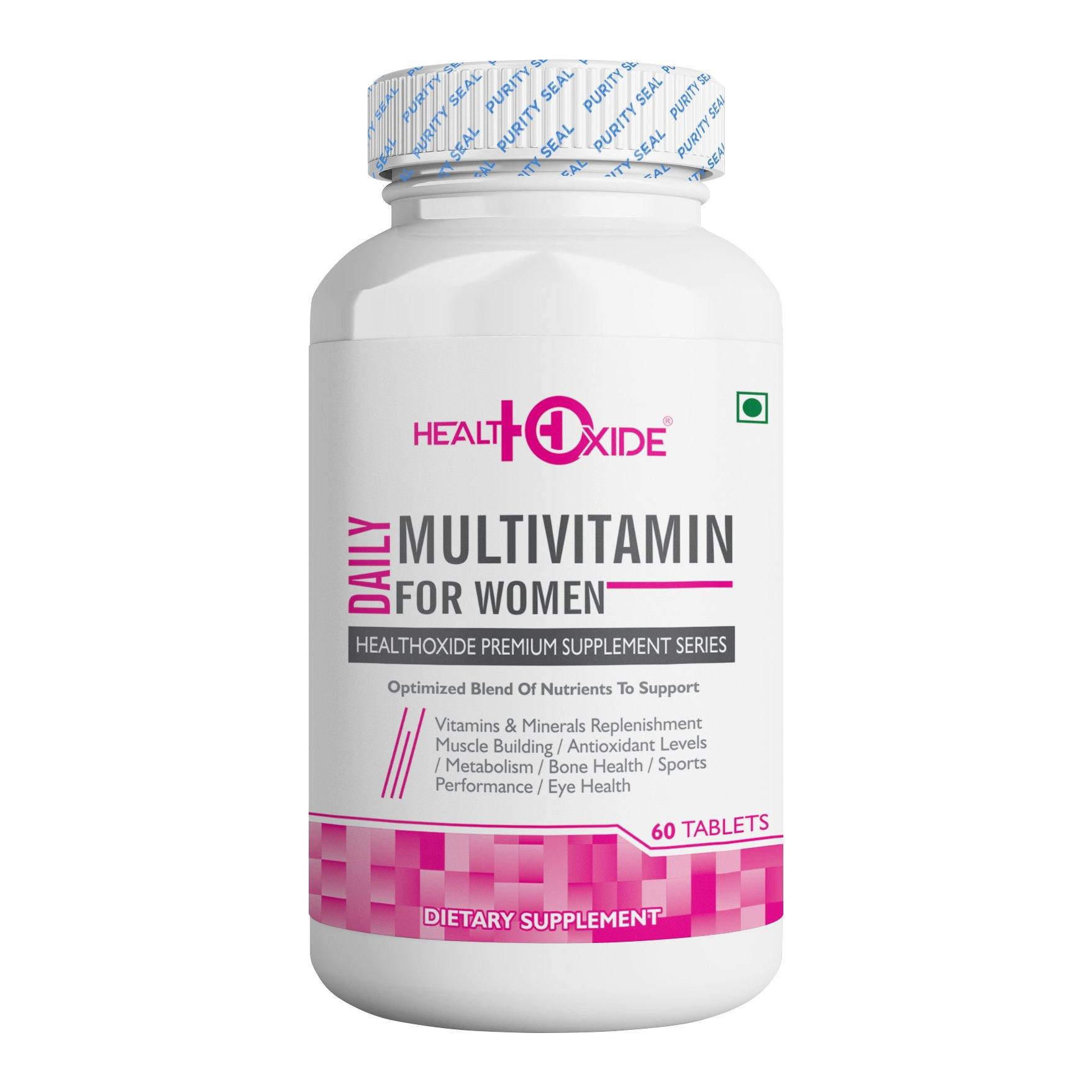 Multivitamins for Women – 60 Veg Tablets - HealthOxide