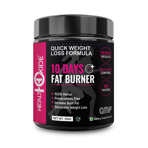 10 Days Fat Burner, Quick Weight Loss Formula