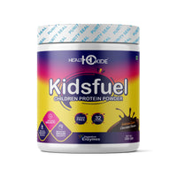 KIDSFUEL - High Protein Nutrition Drink Mix Powder for Child Growth – (200g, Chocolate Flavor)
