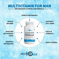 Muscle Builder Combo-Whey Protein+Multivitamin men+Shaker