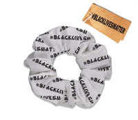 Black Lives Matter Scrunchie