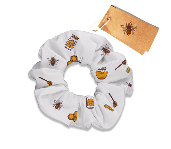 Honey and Bees Scrunchy