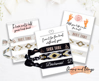 Bride Tribe Hair Ties