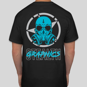 Gasmask Black T-Shirt