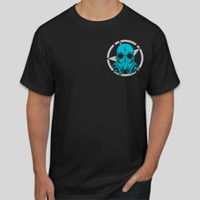 Load image into Gallery viewer, Gasmask Black T-Shirt