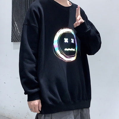 Emotionless Reflective Hoodie