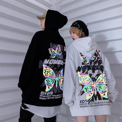 Butterfly Reflective Hoodie