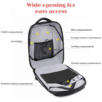 LED Display Backpack