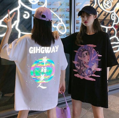 Highway Beauty Reflective Tee