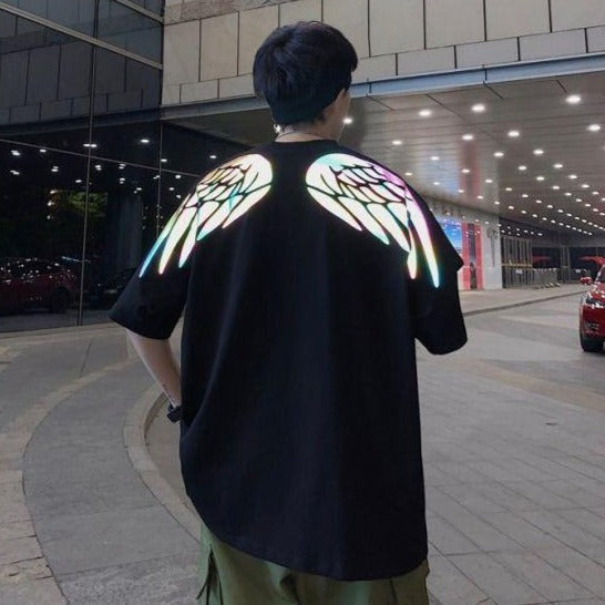 K Wings Reflective Tee