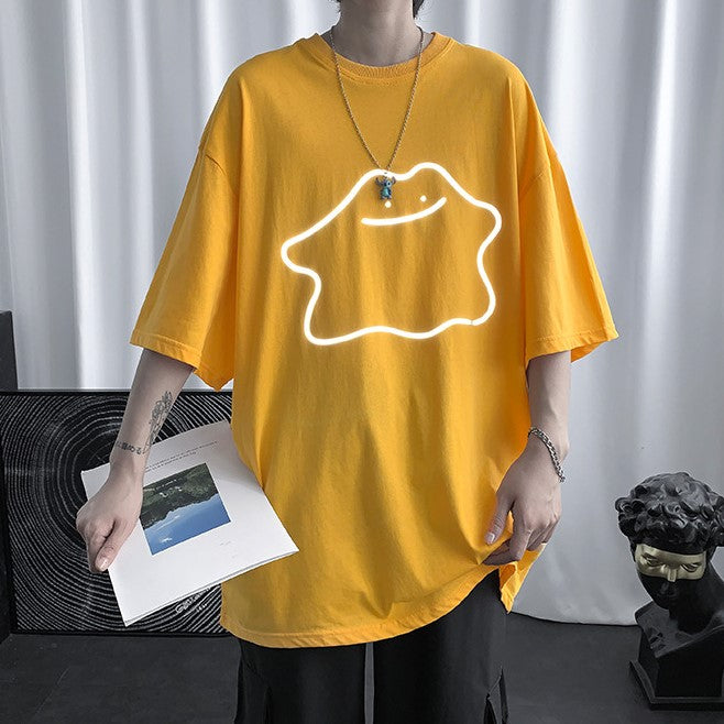 Friendly Casper Reflective Tee